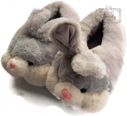 PINK RABBIT SLIPPERS 36-39